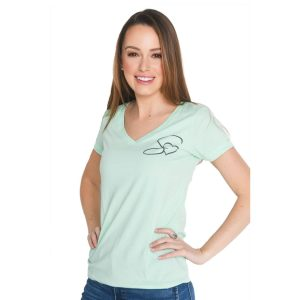 selfless-love-foundation-swag-v-neck-short-sleeve-shirt-mint